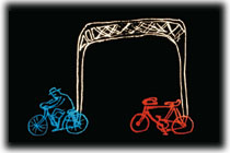Bicycle built for two (for one)